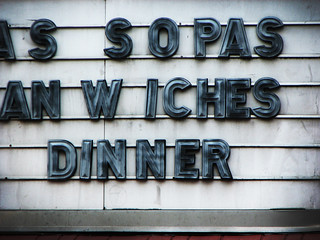 sopas, sandwiches, dinner | by Lauren Manning