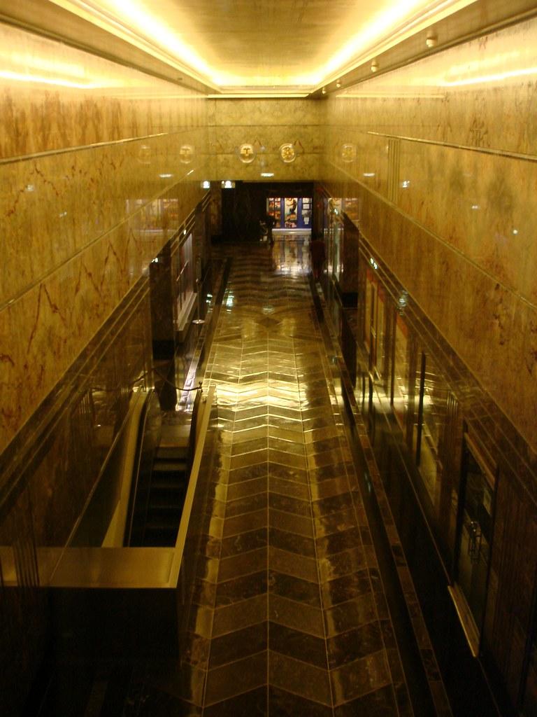Interior empire state building darelle bunny flickr for Empire state building art deco interior