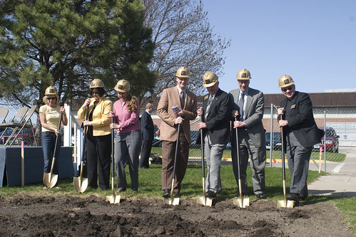 Groundbreaking April 16, 2010 | by Gustavus Marketing and Communication