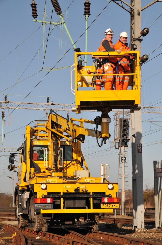 Network Rail U400 Mewp Soho Sidings Kevin Hill Amp Tim