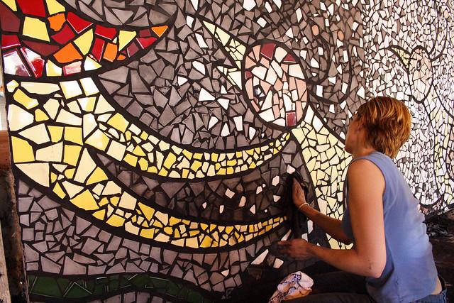 Mosaic mural flickr photo sharing for Mural mosaic