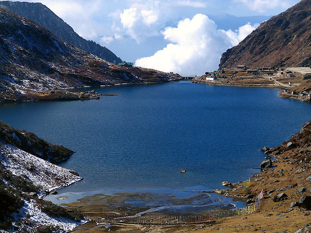 Tsomgo Lake East Sikkim India Tsomgo Lake One Of The