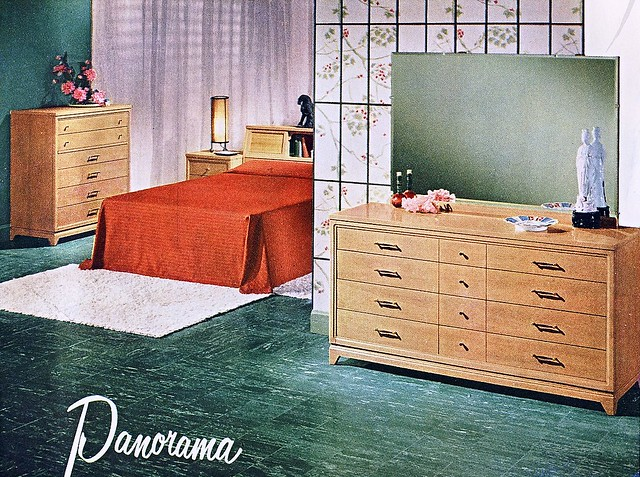 Vintage Bedroom 1955 From A United Furniture