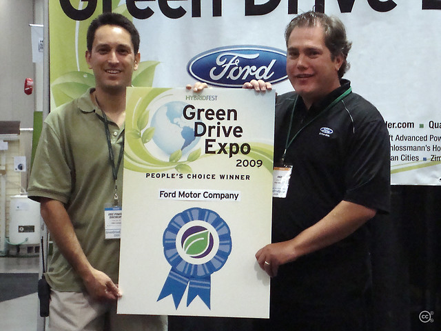 Ford wins people 39 s choice award at hybridfest green drive for Ford motor company awards