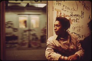 Interior of Graffiti-Marked Subway Car. 05/1973 | by The U.S. National Archives