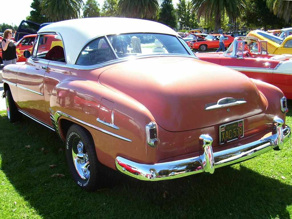 1952 chevrolet bel air 2 door hardtop custom 39 xac 538 39 5 for 1952 chevy two door hardtop