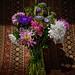 Still Life Garden Flowers-3