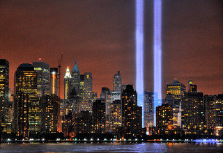 WTC Tribute in Lights 2009 | by noamgalai