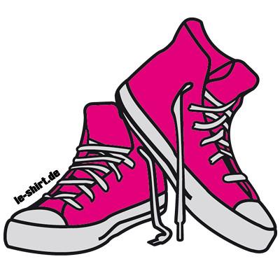 Cartoon Tennis Shoes Clip Art