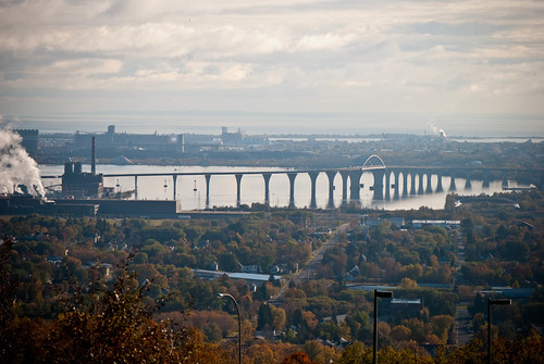 Duluth from Thompson Overlook | by swellvegan
