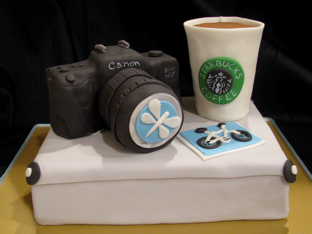 Photographer's Birthday Cake