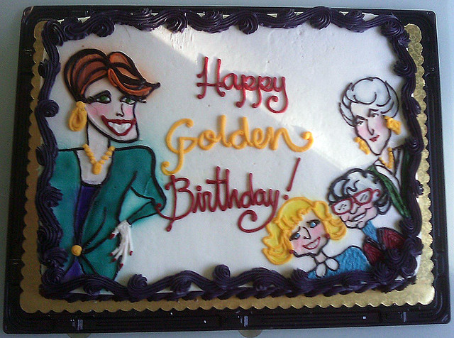 Golden Girls Birthday Cake 30 October 2009 The Golden