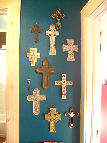 Turquoise Cross Wall Lovefeasttable Flickr