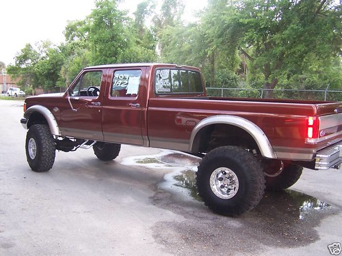 1989 Ford F350custom King Ranch Conversion Owner Gave