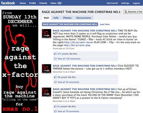 rage against the machine x factor