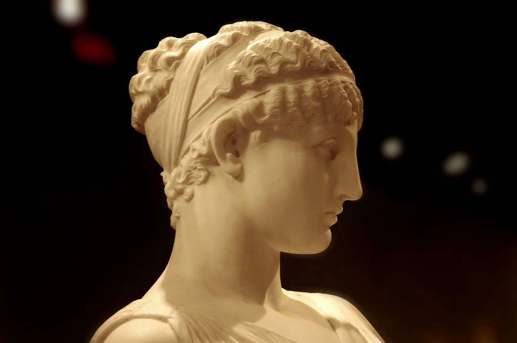 Female Head Nice Nose Greek Hair Band Neo Classical Sta Flickr
