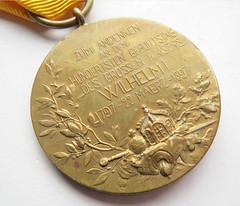 1897 Wilhelm I Centenary Medal reverse