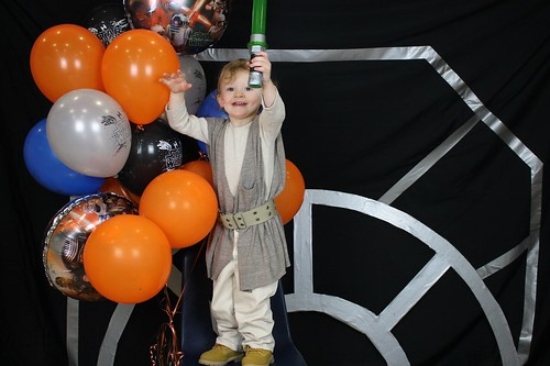 Star Wars party photobooth