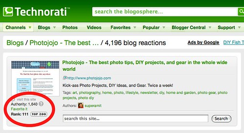 #111 in the blogosphere, ranked by authority | by @superamit