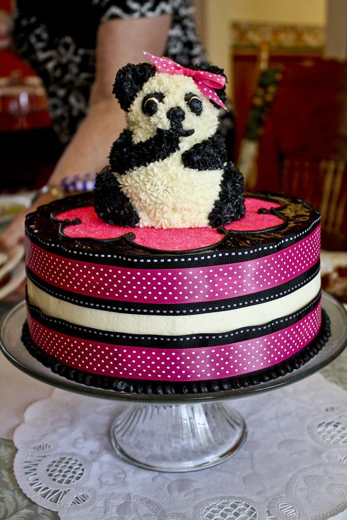 Panda Cake By Her Aunt Ohsohappytogether Blogspot Com