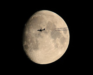 Plane Moon | by Mlparr61
