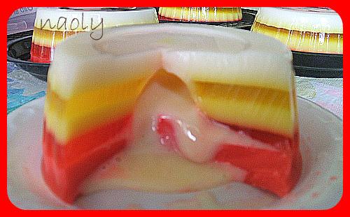 Gelatina rellena de leche condensada oly murillo flickr - Gelatina leche condensada ...