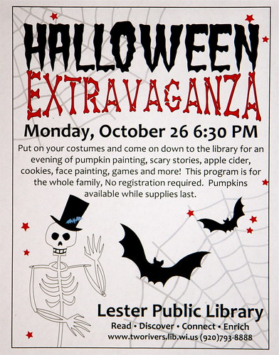 Halloween Extravaganza | by Lester Public Library