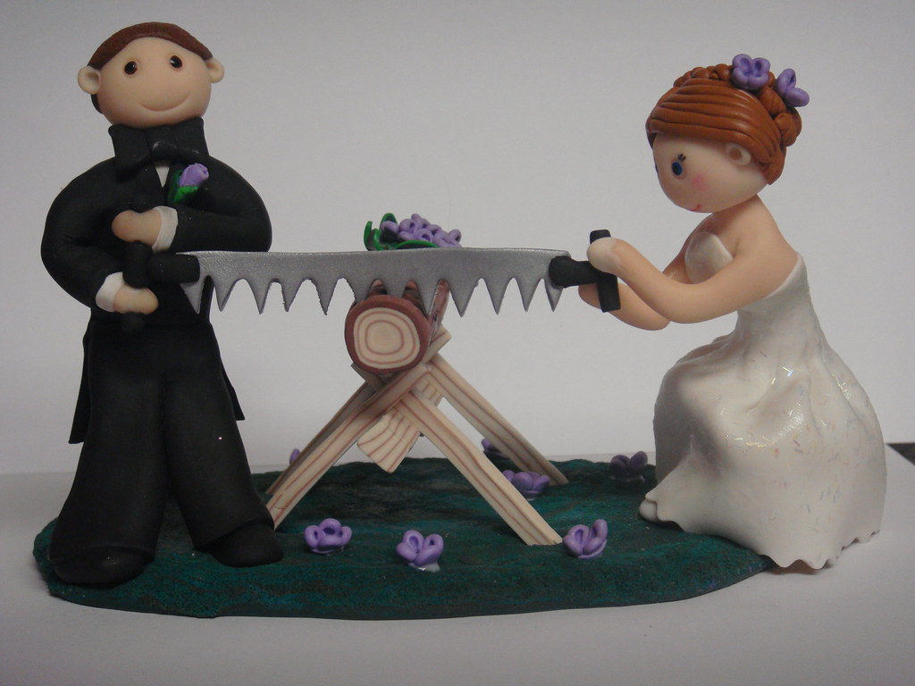 Wedding Cake Topper This Was Done For A Couple That Took