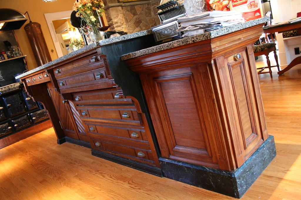 Kitchen Island Furniture Italian Basalt