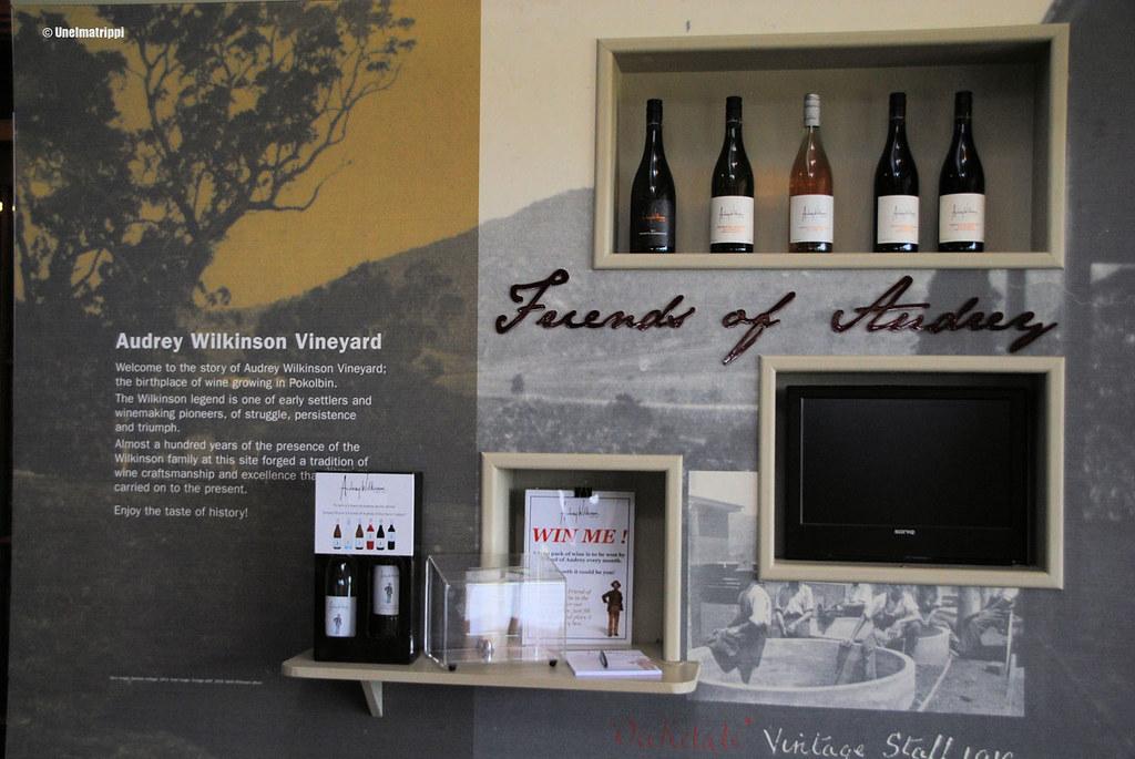 Audrey Wilkinsonin viinitilalla Hunter Valleyssä Australiassa