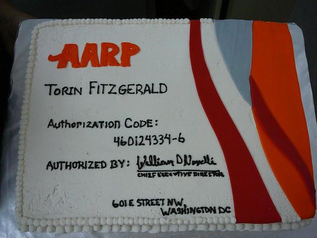 Aarp Birthday Cake