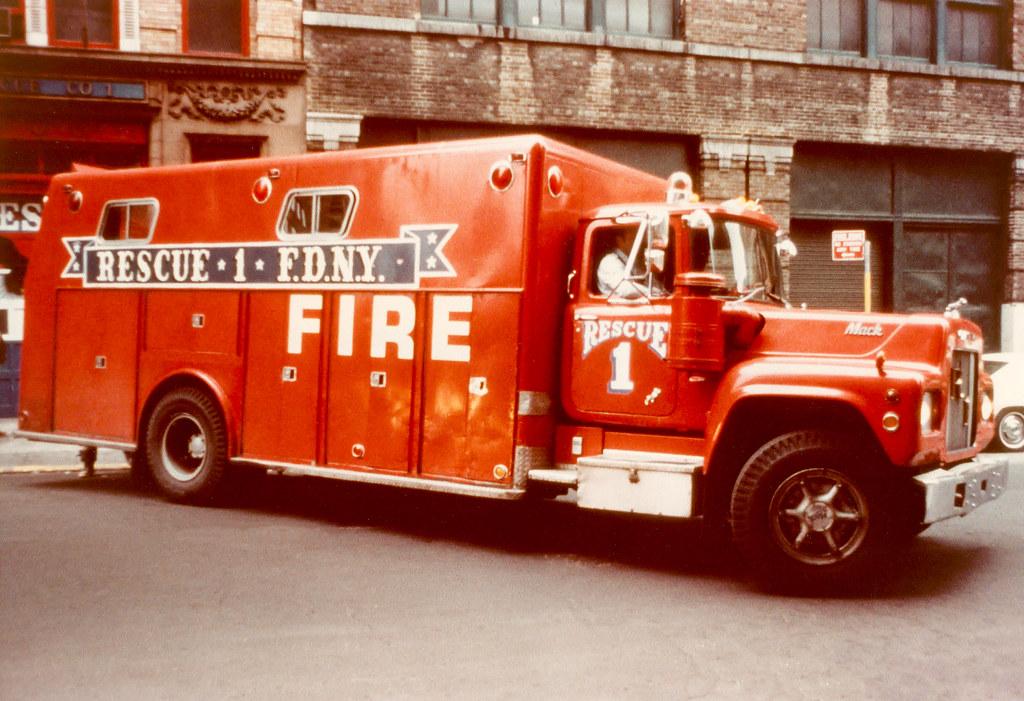 F D N Y Rescue Company No 1 1971 Mack R Providence