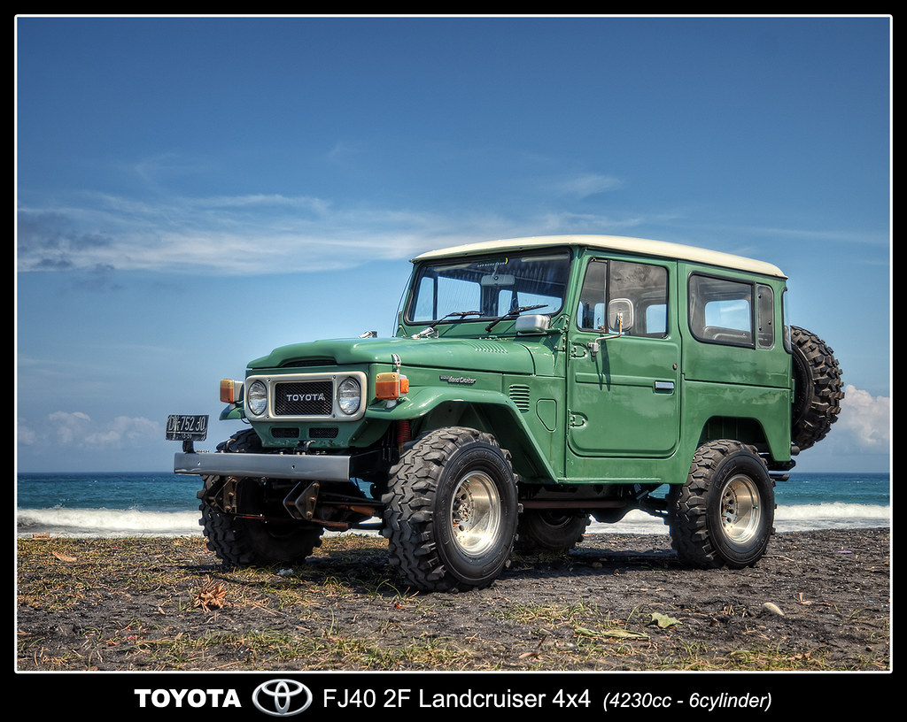 Toyota Landcruiser FJ40-2F 4x4 | HDR from 7 raw exposures (-… | Flickr