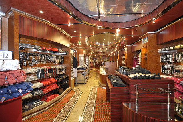 Carnival Dream Gift Shop Carnival Cruise Lines Flickr