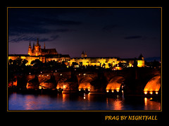 Prag by nightfall | by trinityeleven
