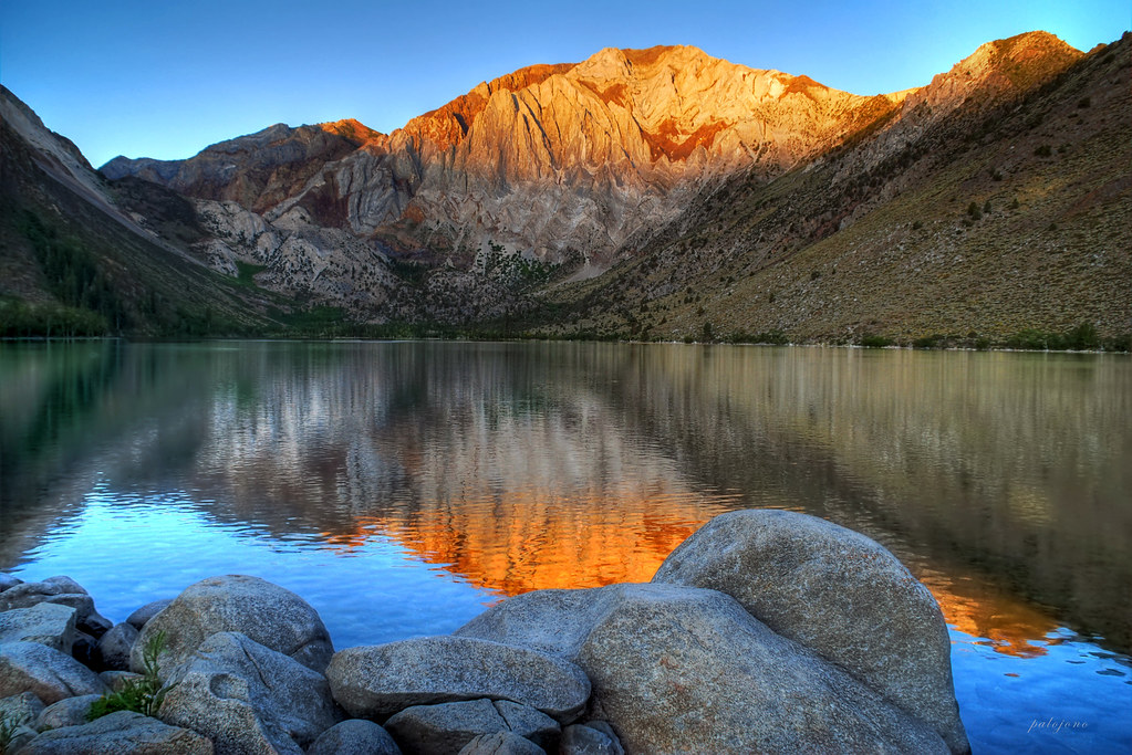 laurel mountain sunrise  convict lake owens valley The Good Jobs Company