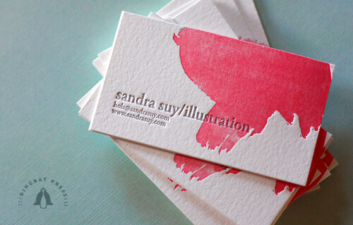Sandra Suy Contact Cards | by Dingbat Press