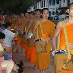 Luang Prabang: Alms for Monks