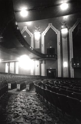 068773 Interior Of Auditorium Odeon Cinema Pilgrim Street