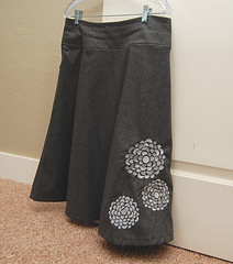 wool skirt | by meringuedesigns