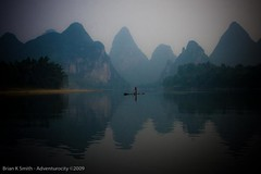 Karst River Rafter, Guilin | by adventurocity
