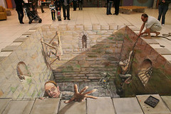 Amazing 3D Sidewalk Chalk Art 9 | by dwightgenius