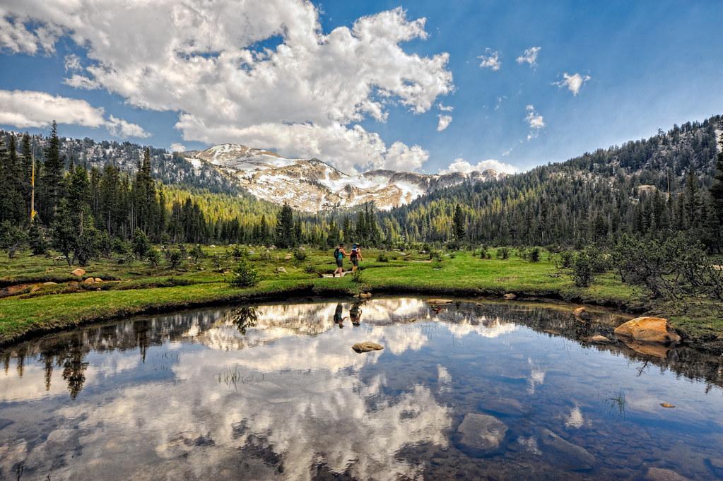 Elizabeth Lake Hike Yosemite National Park Hdr More