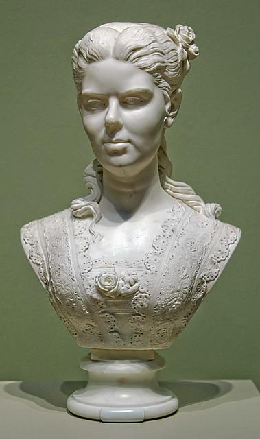Marble Bust Quot Portrait Of A Woman Quot By Edmonia Lewis 1873