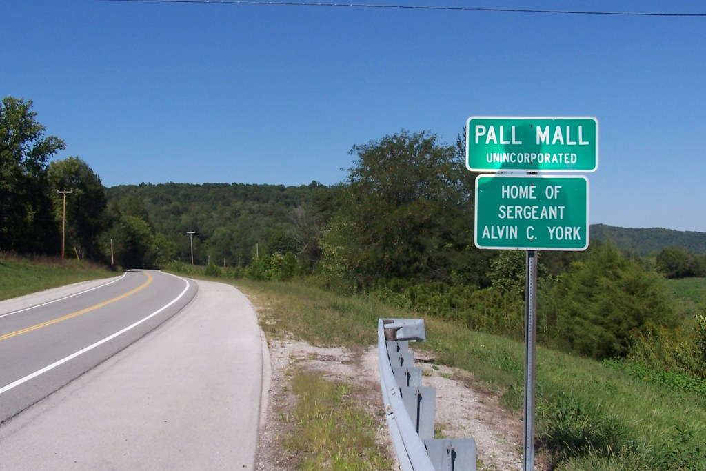 Pall Mall Tennessee City Limit Home Of Sargent Alvin C