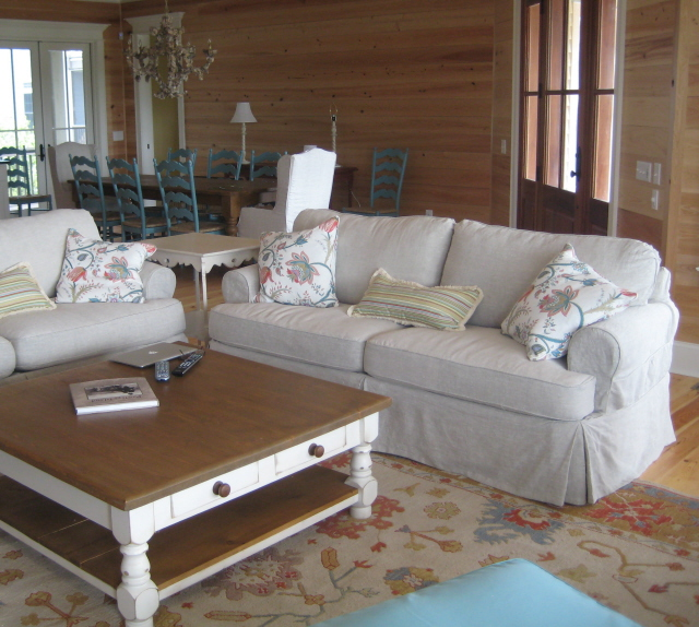 Beach House Living Room Mansfield Sofas By Posh Living