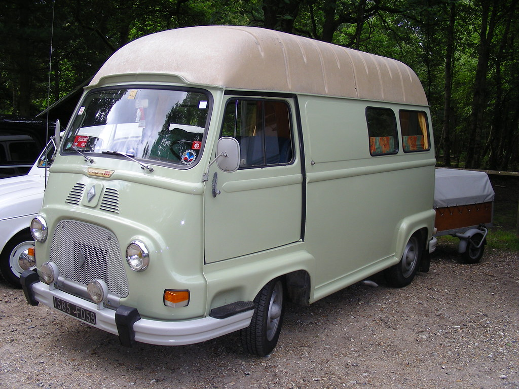 renault estafette camping car photo prise forges les e flickr. Black Bedroom Furniture Sets. Home Design Ideas