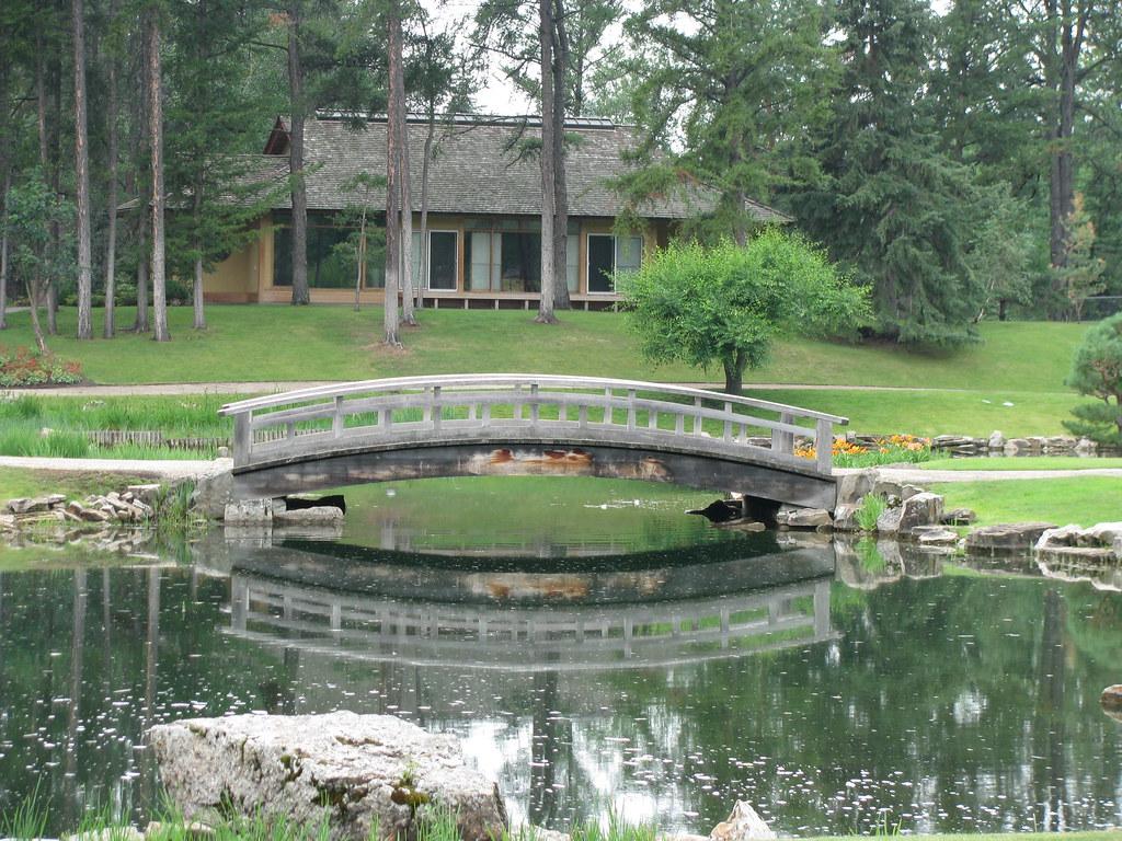 Japanese Garden At Devonian Botanical Gardens Edmonton