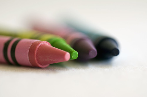 Four crayons | by ImagesByClaire