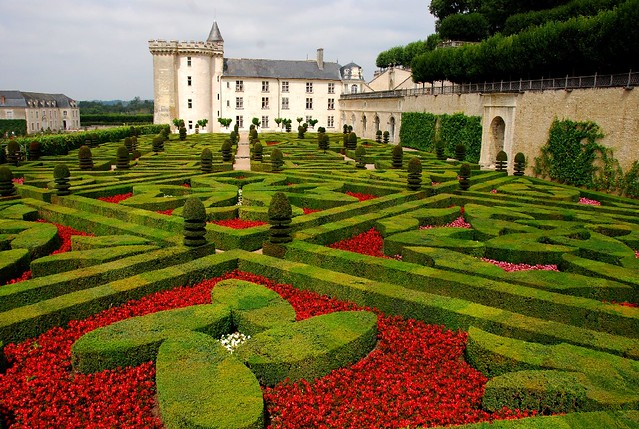 The castle garden of villandry le ch teau jardin de v for Jardin france